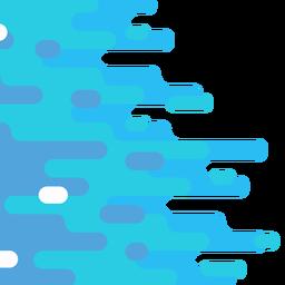 Resumo de fundo geométrico arredondado