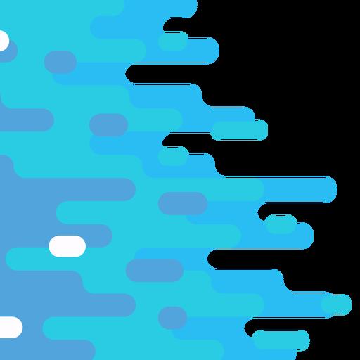 Fondo geométrico redondeado abstracto