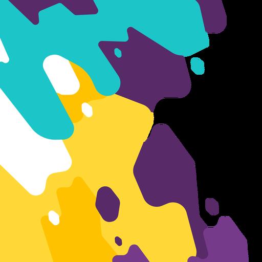 Resumen de vectores de fondo splash
