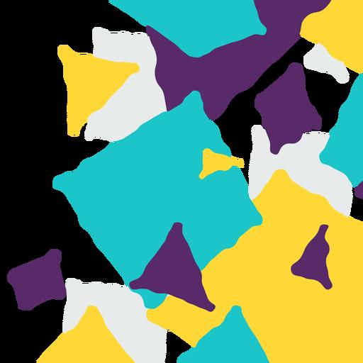 Triángulo abstracto y fondo cuadrado Transparent PNG