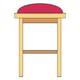 Bar stool cartoon