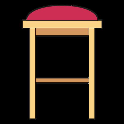 Bar stool cartoon Transparent PNG