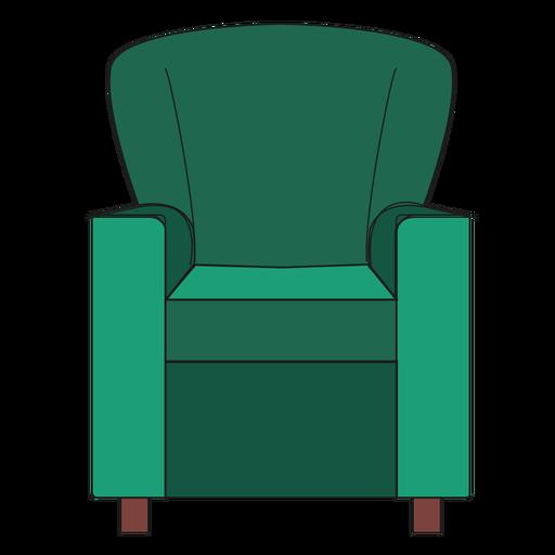 Club chair cartoon Transparent PNG