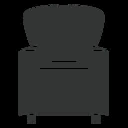 Icono plano de la silla club