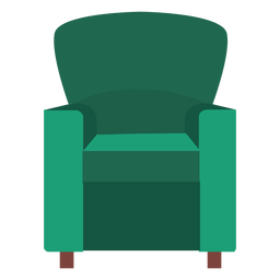 Club chair icon