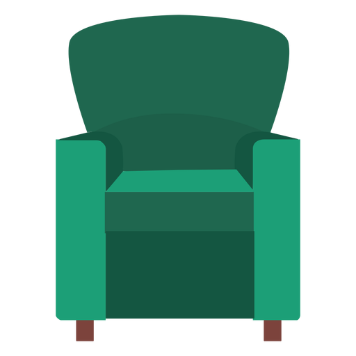 Club chair icon Transparent PNG