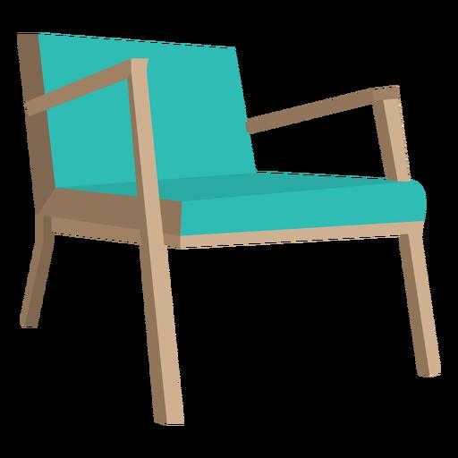 Danish Mid Century Chair Cartoon Transparent PNG