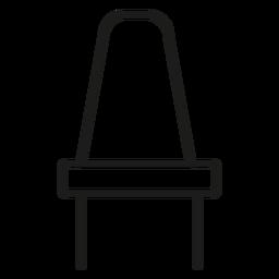 Ícone de curso de cadeira de jantar