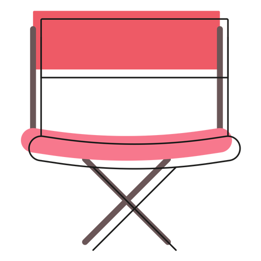 Director chair icon Transparent PNG