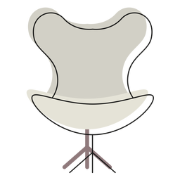 Ícone de cadeira de ovo