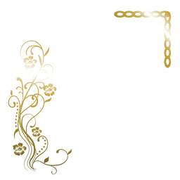Eleganter goldener Blumenhintergrund