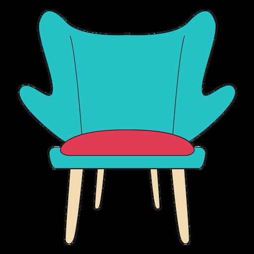 Fashion chair cartoon