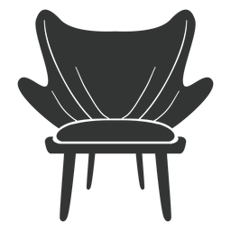 Fashion chair flat icon