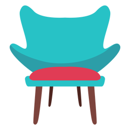 Fashion chair icon