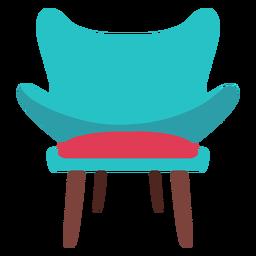 Icono de la silla de moda