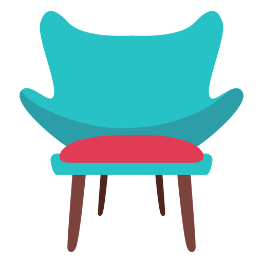 Fashion chair icon - Transparent PNG & SVG vector file