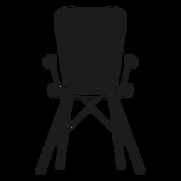 High chair flat icon