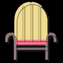 Ícone de poltrona de ferro