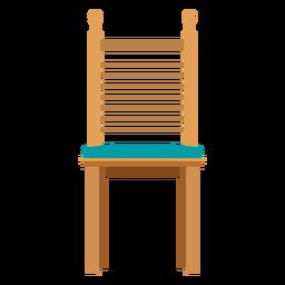 Desenhos animados de cadeira Ladderback