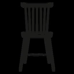 Lath Stuhl flach Symbol