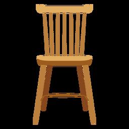 Icono de silla de liston