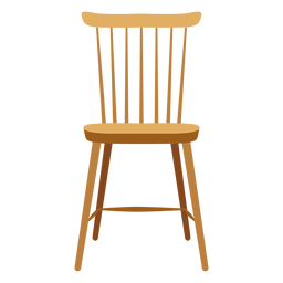 Lath chair icon