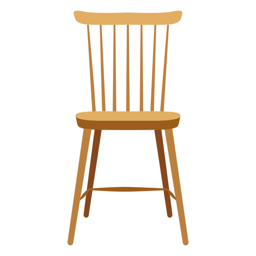 Lath chair icon Transparent PNG
