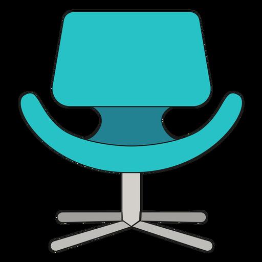 Dibujos animados de silla de tulipán pequeño Transparent PNG