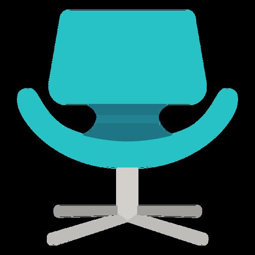 Pequeño icono de silla tulipán Transparent PNG
