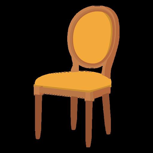 Louis silla de dibujos animados