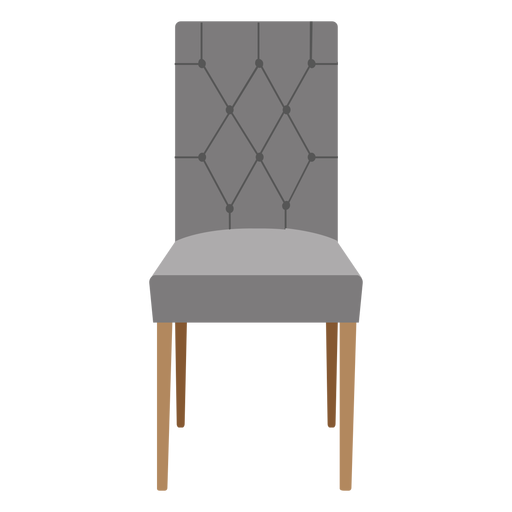 Parsons chair cartoon Transparent PNG