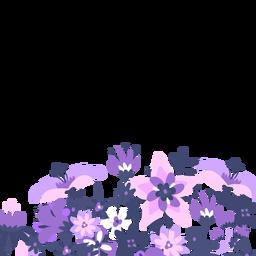 Fundo floral lavanda roxo