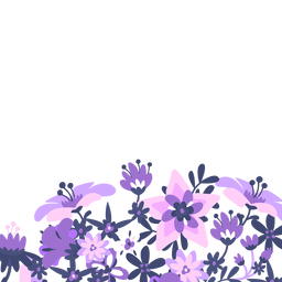 Purple lavender floral background