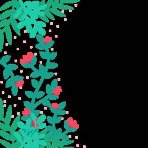 Fundo De Videiras De Flor Vermelha Baixar Pngsvg Transparente