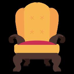Icono de sillón real