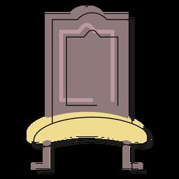 Icono de la silla real