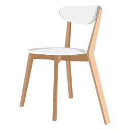 Side chair icon