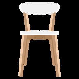 Ilustração de cadeira lateral