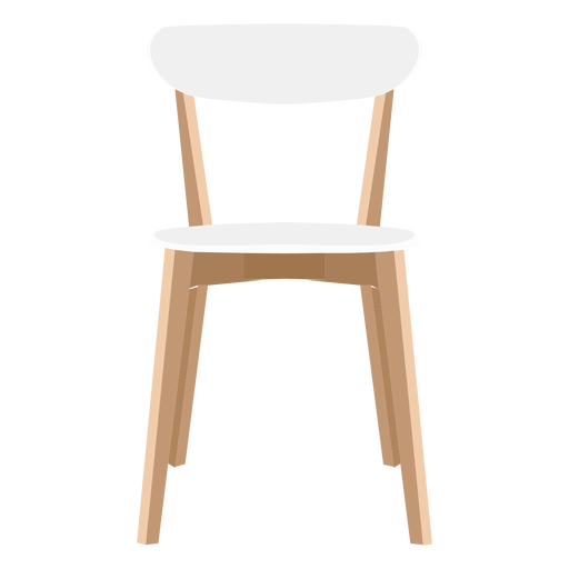 Side chair illustration Transparent PNG