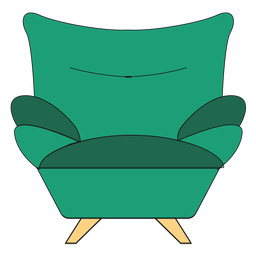 Sofa armchair cartoon