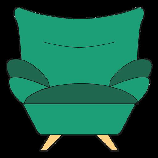 Sofa armchair cartoon - Transparent PNG & SVG vector