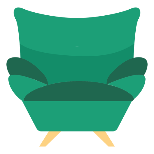 Sofa armchair icon Transparent PNG