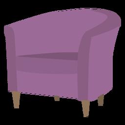 Desenhos animados de cadeira de banheira