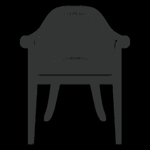 Vintage chair flat icon Transparent PNG