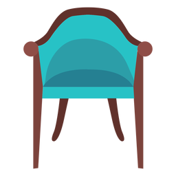 Vintage chair icon