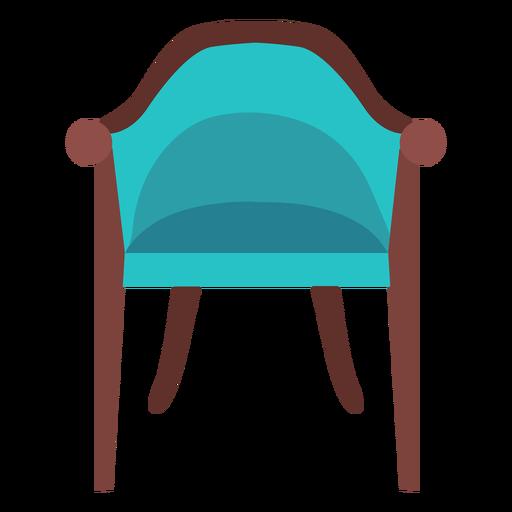 Vintage chair icon Transparent PNG
