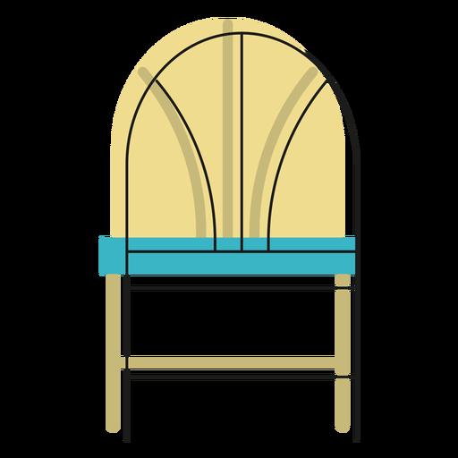 Icono de silla de trigo Transparent PNG