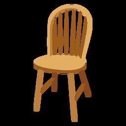 Desenho de cadeira de Windsor