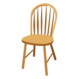 Windsor chair cartoon