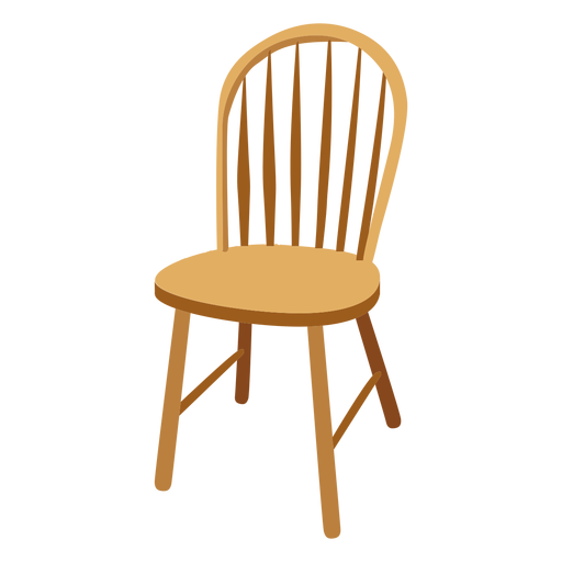 Windsor chair cartoon Transparent PNG